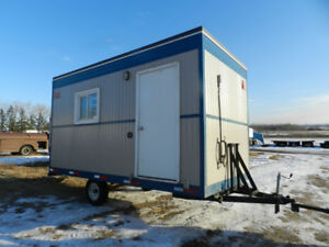 Red Rose 8x16 Office Trailer