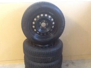 215/65 R16 SnowMaster Tires and Rims