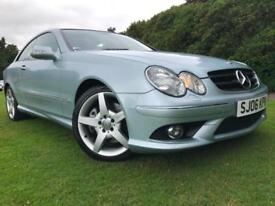 *STUNNING EXAMPLE*MERCEDES CLK280 SPORTS AUTO AMG WITH LEATHER 58K FSH*