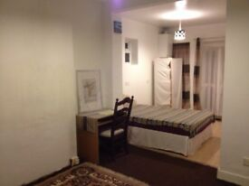 Double room and single room studio, with garden.