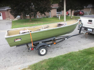 12 foot boat and trailer for sale