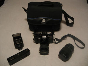 CAMERA MINOLTA X-9 35mm with accessories Gatineau Ottawa / Gatineau Area image 6