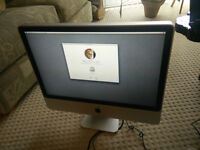 "24"" Apple iMac A1225 EMC 2211 500gb hdd 4gb ram"