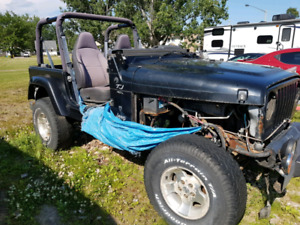 2001 Jeep TJ parts car