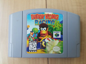 Diddy Kong racing N64