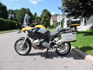 BMW R1200GS R 1200 GS 2004 VGA dommages léger