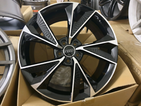 Set of 4 brand new Audi style alloy wheels 19 inch