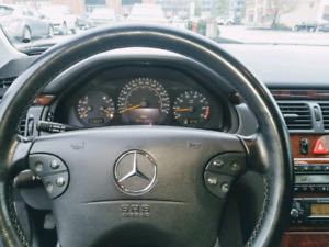 I have Mercedes Benz e430 in very good condition