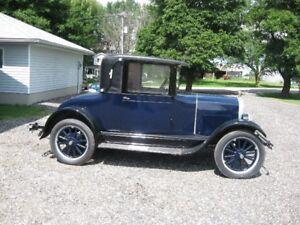RARE 1926 DURANT STAR MODEL M COUPE