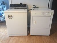 Washer and dryer first offer takes them!