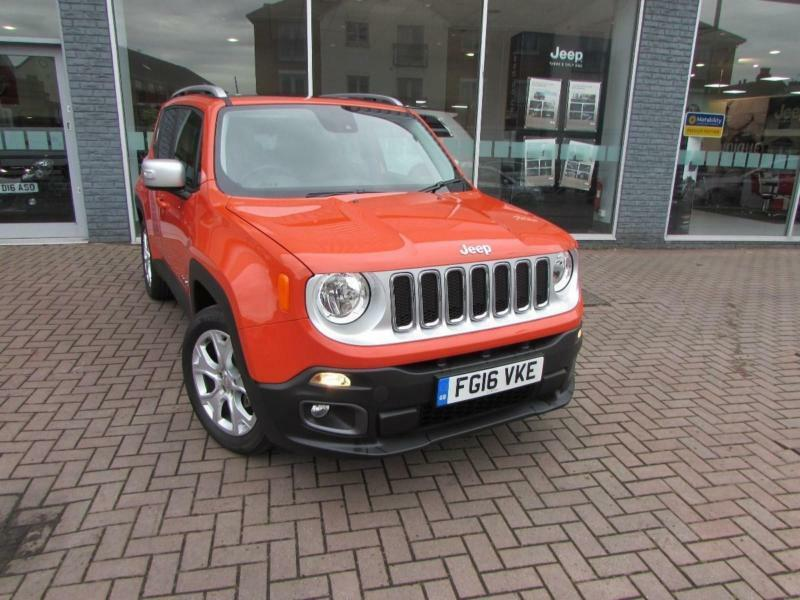 2016 jeep renegade m jet limited panoramic sunroof diesel orange manual in basford. Black Bedroom Furniture Sets. Home Design Ideas