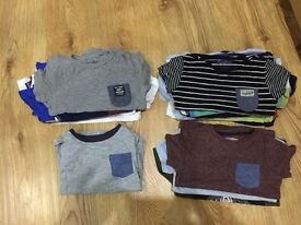Various kids t shirts and hoodies