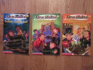 Abracadabra French Chapter Books