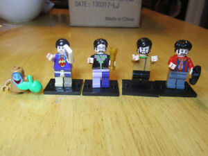Fab 4 - The Beatles -  Lego Compatible
