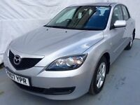2007 MAZDA 3 1.6 TS 5DR .1 LADY OWNER/2 KEYS/MOT 25/04/2017/HPI CLEAR