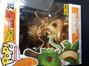 Must buy today gold shenron funko pop hot topic exclusive