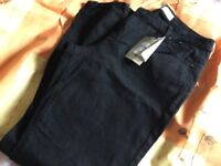 Denim and co black jeans size 16 BNWT