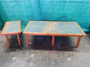 Large Coffee table and End Table