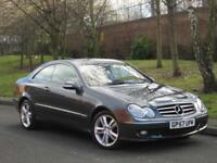 Mercedes-Benz CLK220 2.2 CDI auto Avantgarde RED LEATHER FSH CLEAN CAR for sale