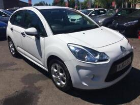 2012 CITROEN C3 WHITE HATCHBACK PETROL