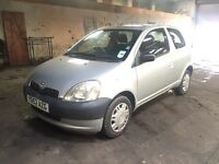 2003 Toyota Yaris GS 1.0 cheap tax and insurance bargain!!!