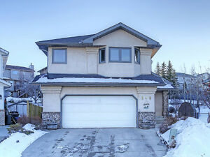 Macewan home, backing onto green space Open house today