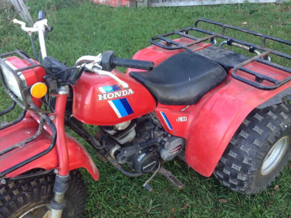 1984 Honda ATC 200es BIG RED