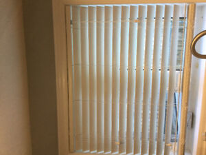 "2x 42"" faux-wood blinds - brand new"