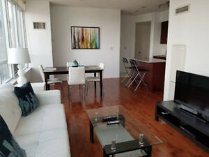 Sept 7: Downtown Furnished 2 Bed 2 Bath @ Union, Harbourfront