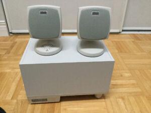 Haut parleurs pour PC avec caisse de basse