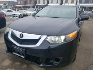 2010 Acura TSX comes with the Premium Package.