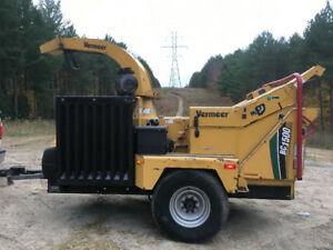 2012 Vermeer BC 1500 with winch wood chipper brush chipper