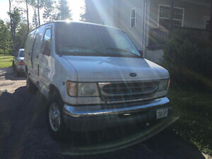 FOR SALE: Ford E-350 Cargo Van