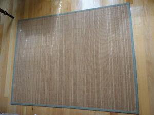 Bamboo floor mat area rug 4 x 6 feet London Ontario image 3