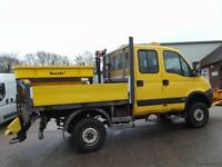 IVECO DAILY 4X4 55S18W SNOW PLOUGH & GRITTER 5.5 TONNE RARE VEHICLE [Website URL removed]