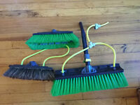 Water Fed Pole Window Cleaning equipment - brushes