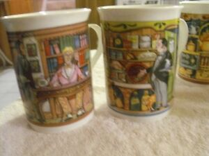 SET OF 5 SADLER WILLINGTON COFFEE MUGS Sarnia Sarnia Area image 4