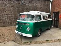 Volkswagen T2 Bay Campervan 1975 *2.2 Suabru Engine*Tax Exempt*12 Months MOT*