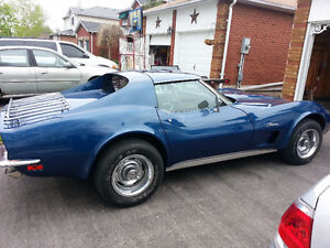 1973 Corvette - your new restoration hobby