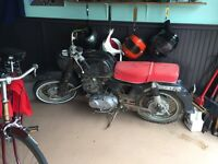 1967 Honda 305 Dream, CA77 resto project