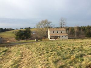 Renovated Farm House & 47 Acres!!