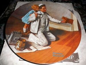 Bradford Exchange Norman Rockwell Retired Collector Plates