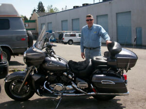 2008 Yamaha Royal Star Venture (79,600 km). $7,950.