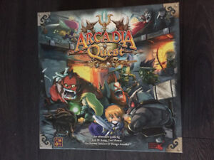 Arcadia Quest Original Board Game Like New for Sale