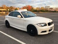 Bmw 118d M sport coupe 2010 white px swap wel bargain