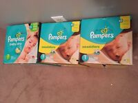 FS - NIB pampers diapers size 1
