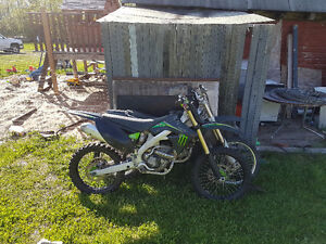 2009 kxf  250 monster edition ready for summer