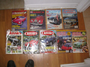 Morgan themed magazine package -- Lot of nine.