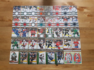 Hockey Card Collection - Jersey, Rookies, Canvas, Portrait, etc