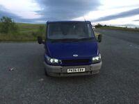 Ford transit van 85 t260 2006 06 met blue 1295